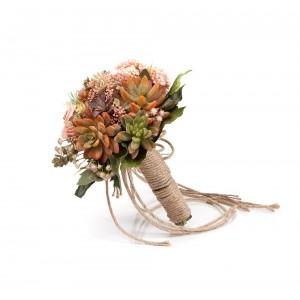 Pastel Sukulentler – El Çiçeği
