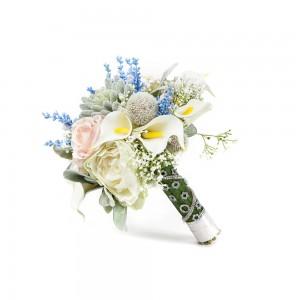 Pastel Renkli El Çiçeği