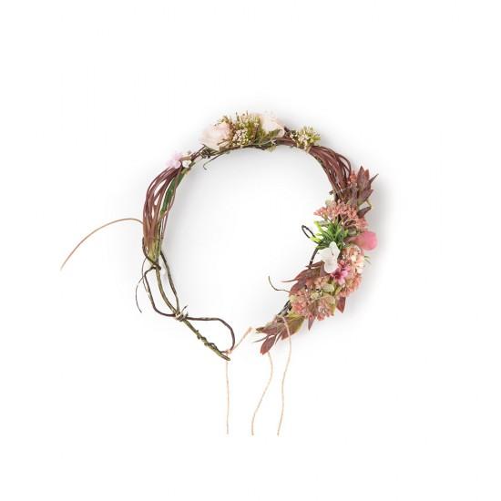 Doğal Çiçekli Taç
